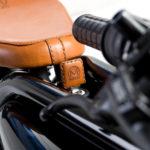 MEIJS Motorman detail saddle and key